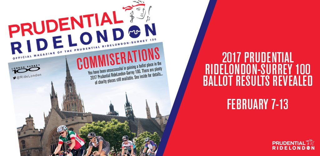 Prudential RideLondon on Twitter: