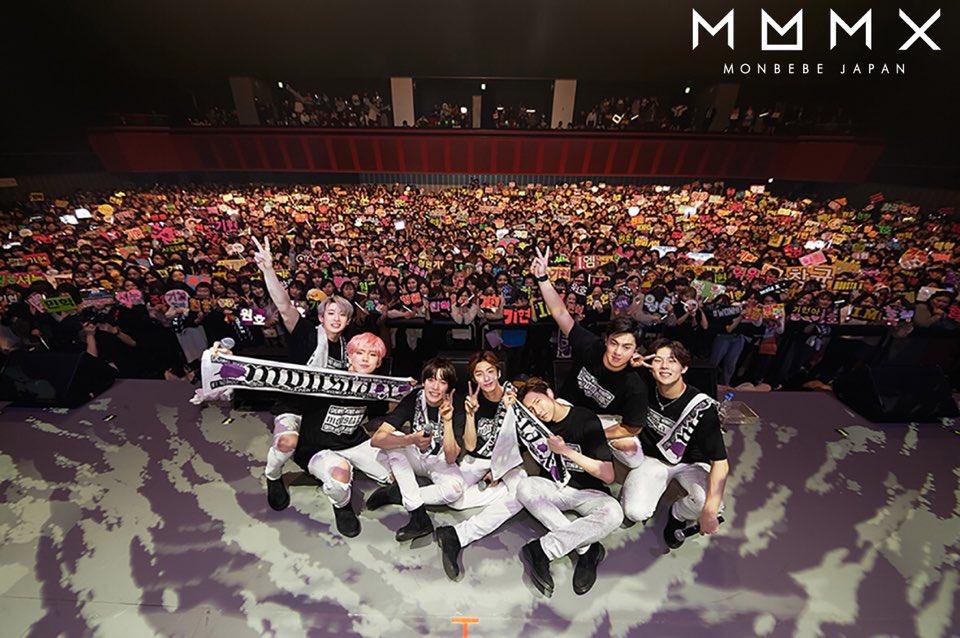 【MONBEBE JAPAN 更新情報】 先日行われたSHOWCASEのステージ写真をMONBEBE…