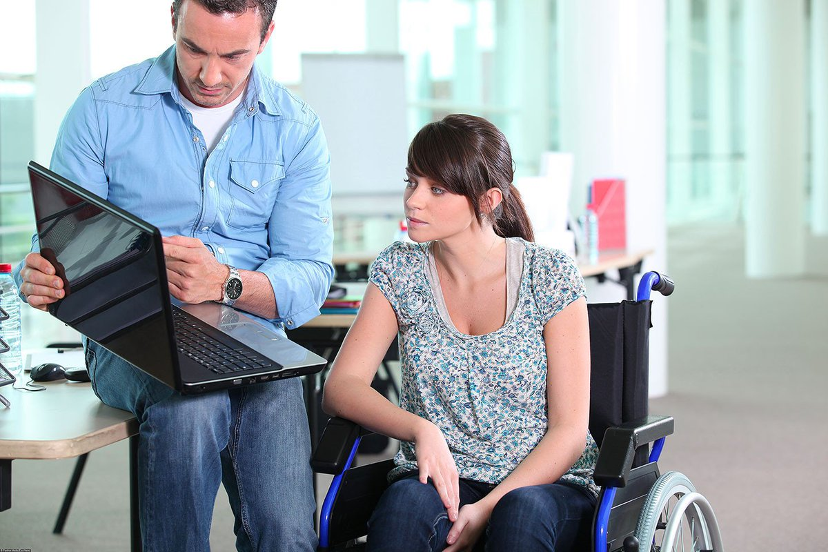Chat room for dating people with disabilities