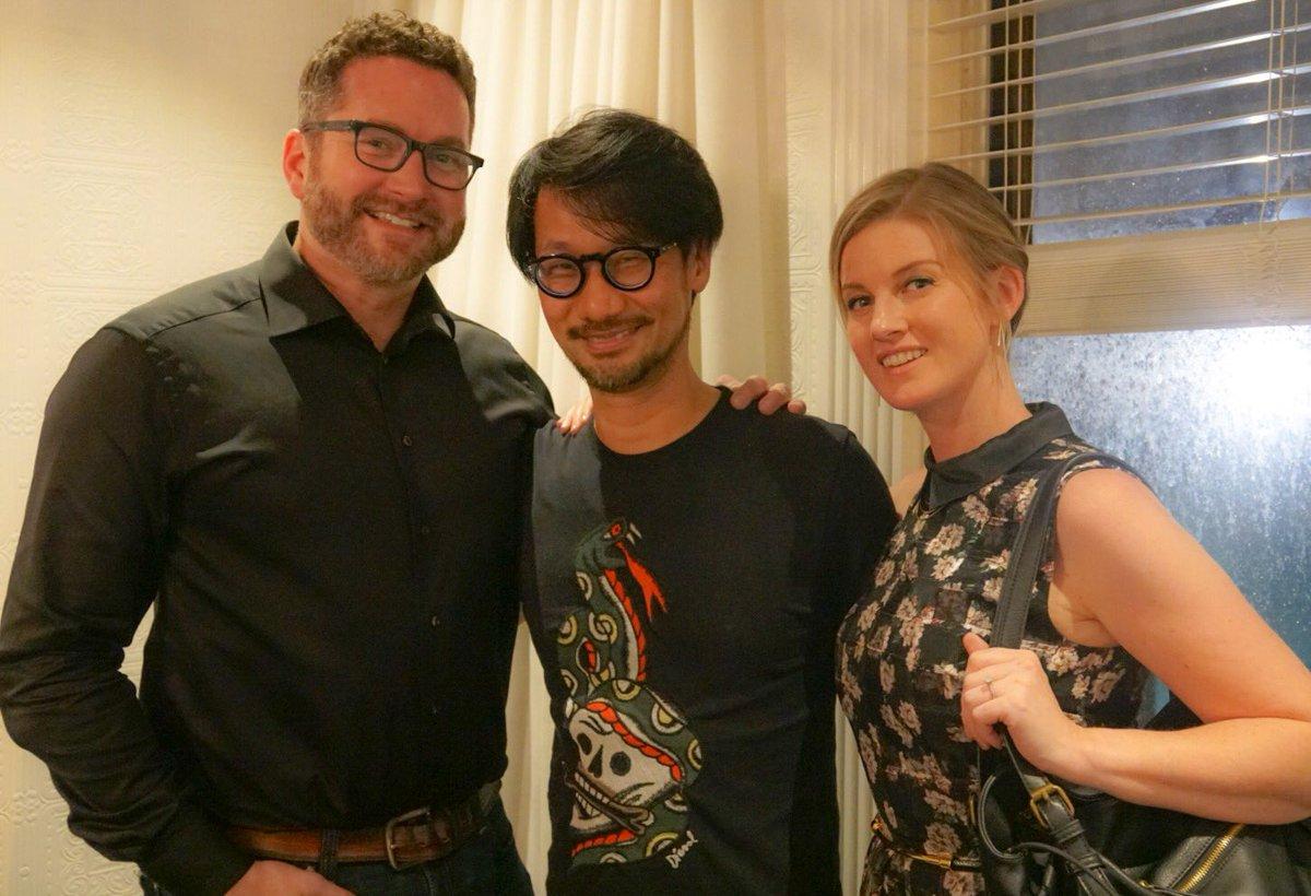 Rooster Theeth創設者の@burnieと@AshleyJさんと。