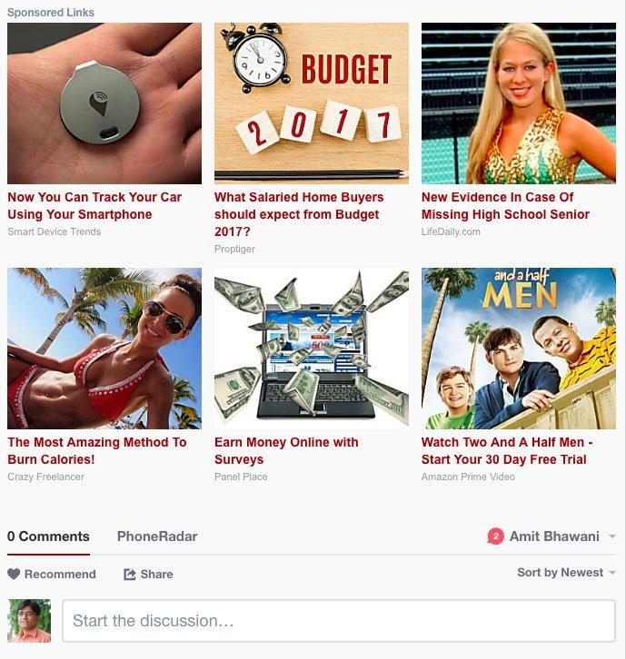 Exemple de publicités Disqus - Source : https://kinsta.com/fr/blog/publicites-disqus/