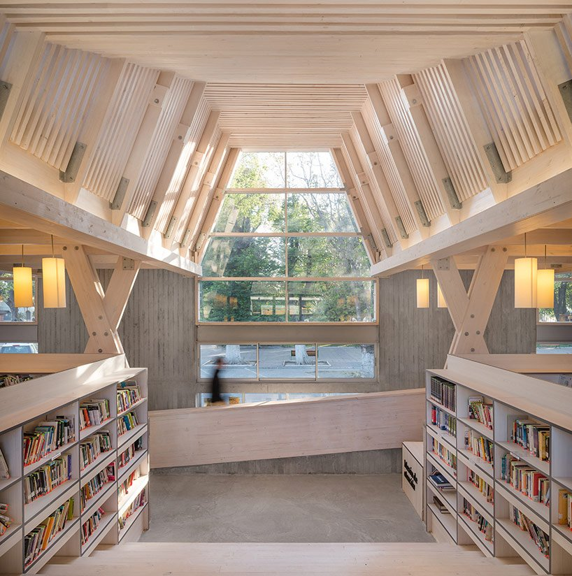 The Exposed Structure Becomes Part Of The Interior Design In Constituciónu0027s  Public Library Http://bit.ly/2laduME Pic.twitter.com/ZX2wNtmEnS