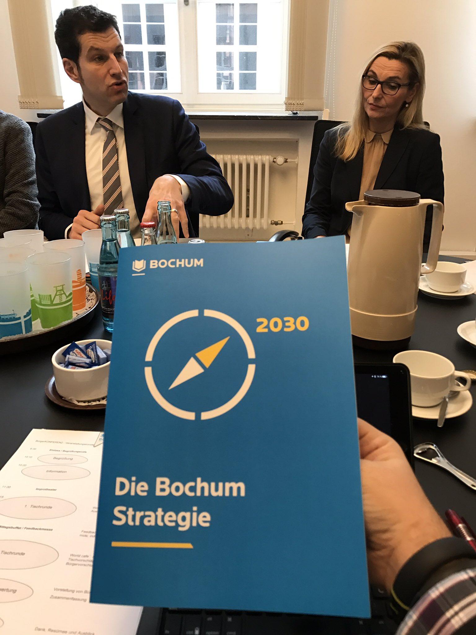 Die Bochum Strategie 2030 - wohin soll sich die Stadt @bochum_de bis 2030 entwickeln. #Bochum #BOkonferenz https://t.co/v1cz9lXKaV