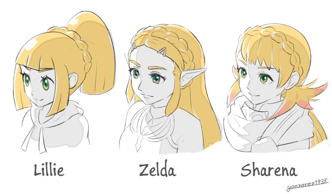 任天堂女子の最近の髪型のトレンドだよ。
