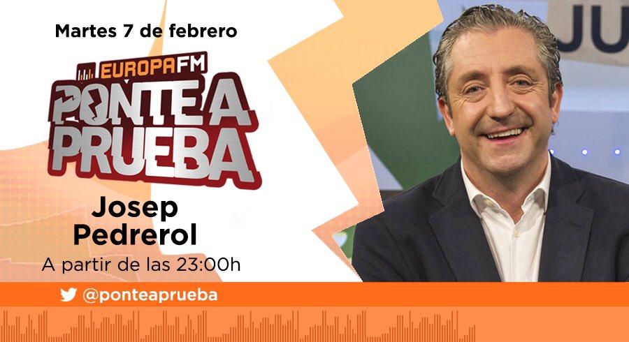 Mañana 7 visita @ponteaprueba @jpedrerol @elchiringuitotv @europa_fm #atresmedia #mega #europafm #ponteaprueba <br>http://pic.twitter.com/oIen06vsNy