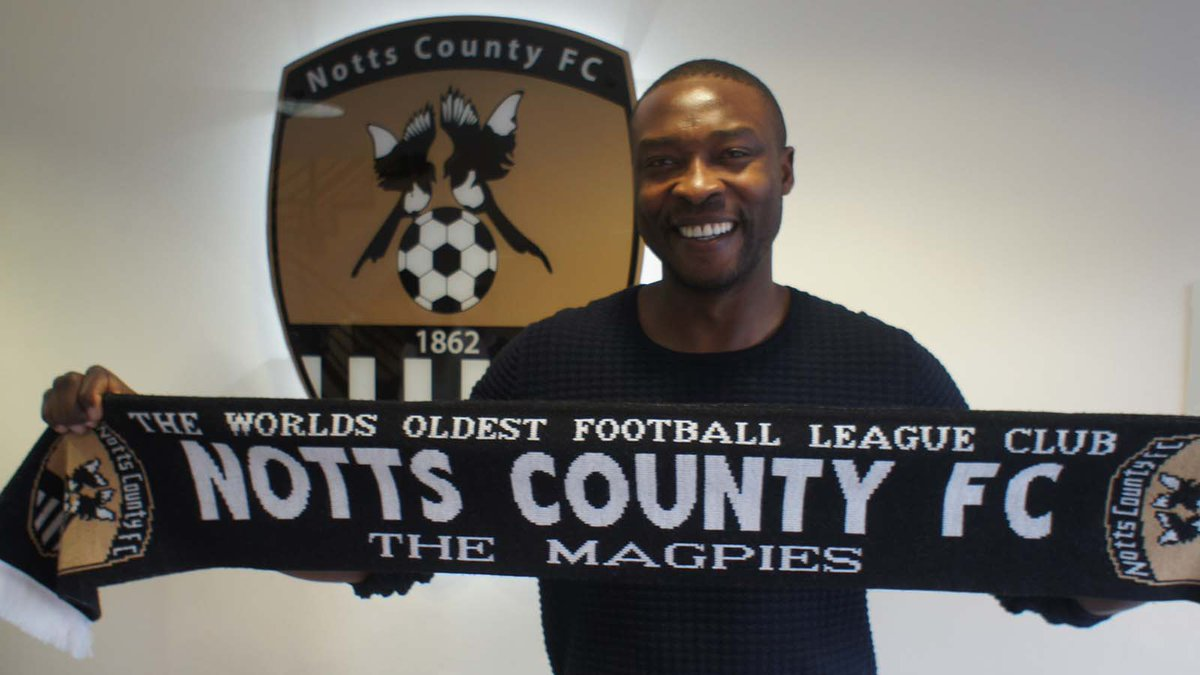 9️⃣ | #Notts have confirmed the signing of Shola Ameobi - and he's on the bench today! https://t.co/LEEtzwvbRT https://t.co/9CKz4qWHpa