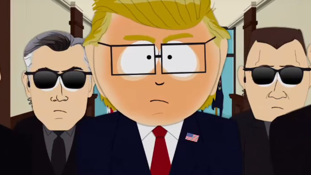 south park satire South park is notorious for its obscene comedy and attacks on almost  donald  trump gets the south park treatment in vicious satire of his.