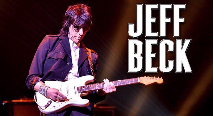 JEFF BECKが、、 アルカイックホールに、、 2月7日に、、  くるーーーーー😳✨😳✨😳✨  …