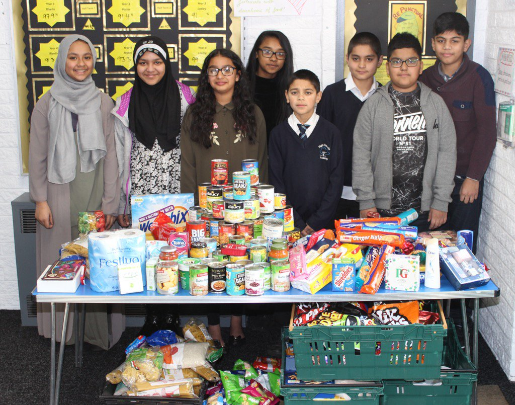High Hazels Academy On Twitter Y6 Supporting Local Food Bank As