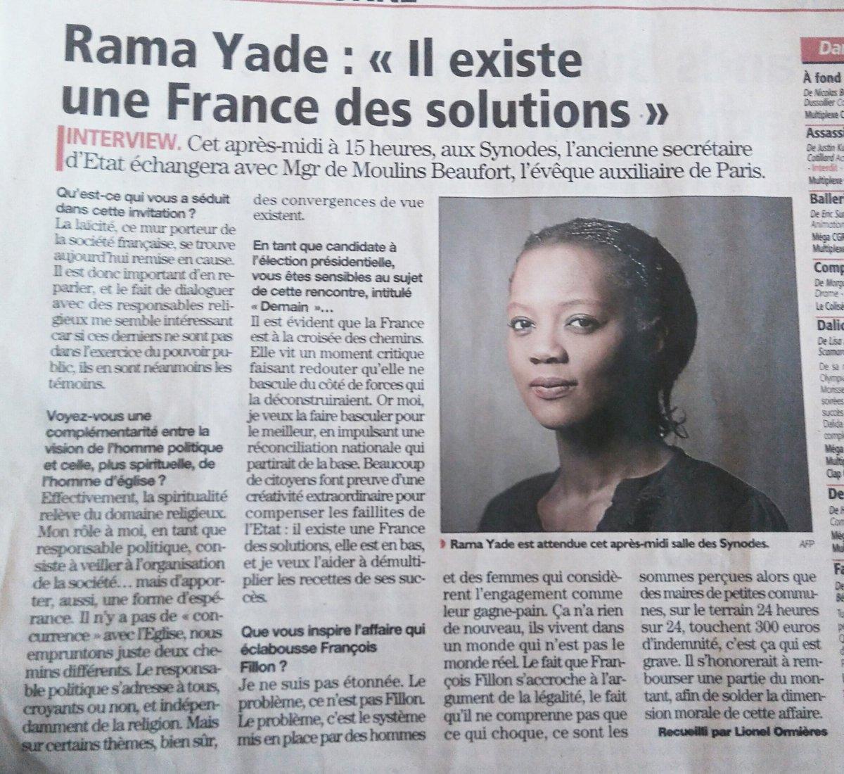 #AUDE. @ramayade aujourd&#39;hui à #Narbonne, à la rencontre de la France des solutions. In #MidiLibre @AudeQuiOse #Presidentielle2017 #Rama2017<br>http://pic.twitter.com/dKcGWTIyzn