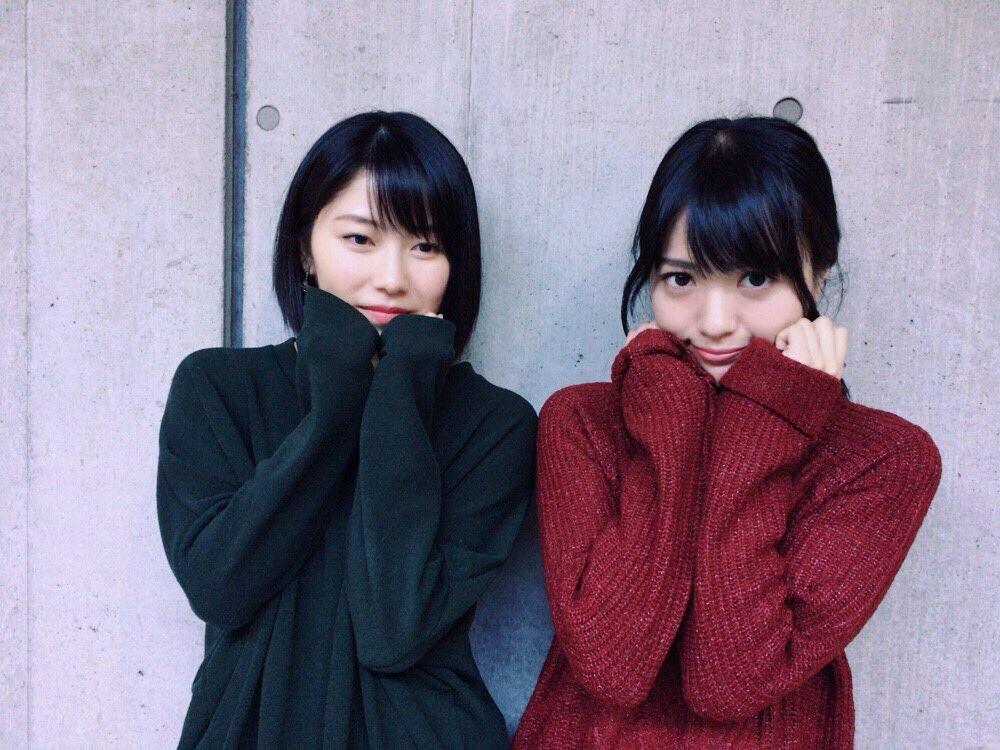 横山さんと私服ペア感ある👯和な色。