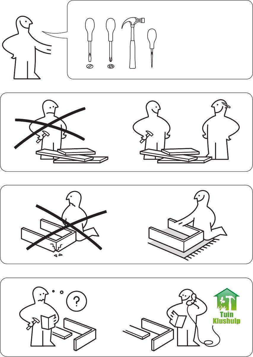 Tuinklushulp On Twitter Een Ikea Kast In Elkaar Zetten