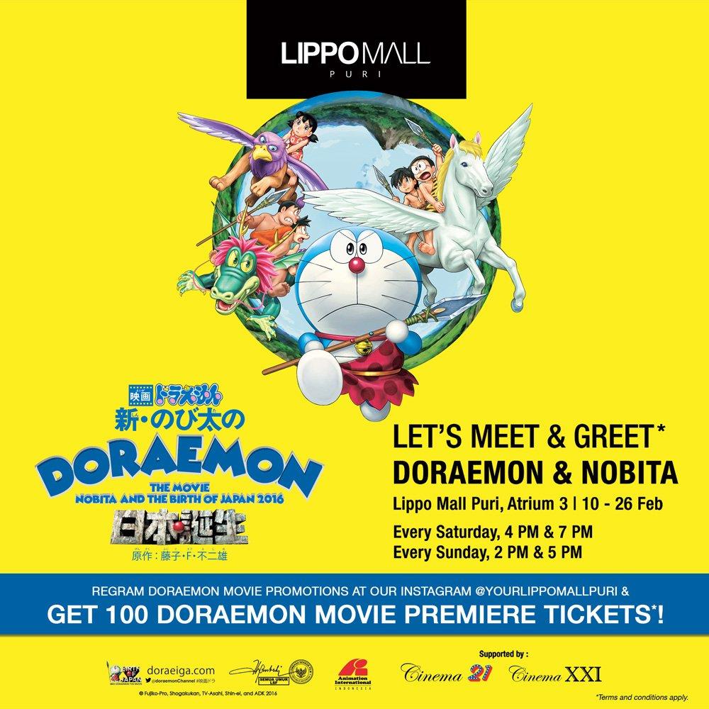 Lippo Mall Puri On Twitter Let S Meet Greet With Doraemon Nobita At Lippomallpuri