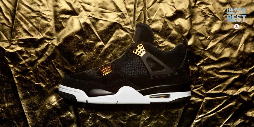 The Air #Jordan 4 Retro 'Royalty' drops