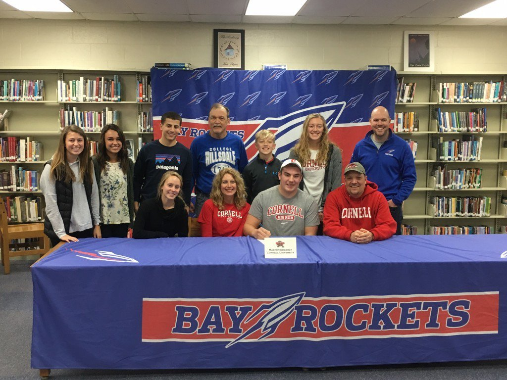 New Story: Maxton Edgerly to Continue Football Career at Cornell University https://t.co/F4lJnRbImn https://t.co/GTojro2VRb