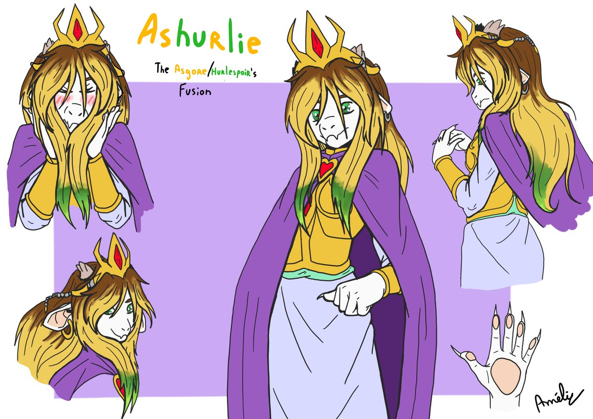 "Hurlespoir-Amelie on Twitter: ""Undertale AU - Fusion with"
