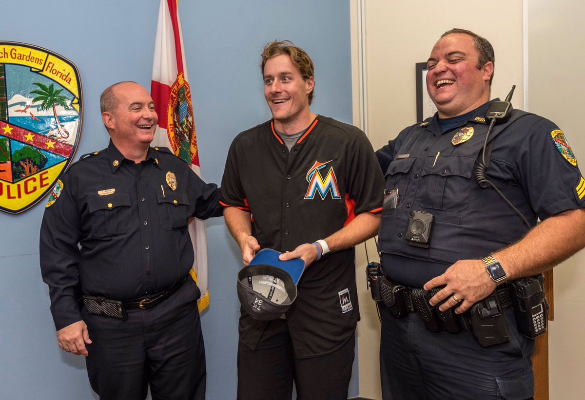 Miami marlins on twitter surprise yesterday - Palm beach gardens police department ...