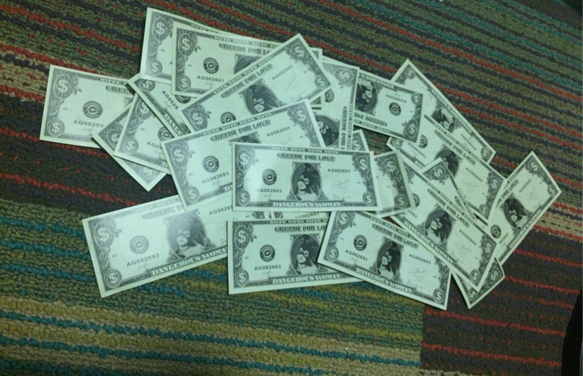 Resultado de imagen para ariana grande greedy dollars
