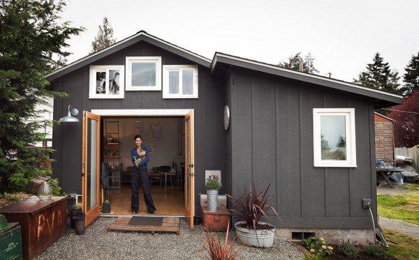 Old Garage turned Mini Dream Home!