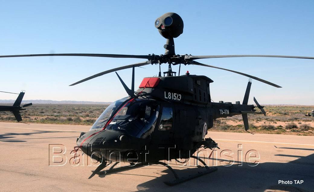 تونس تشتري مروحيات OH-58D Kiowa  الامريكيه الصنع  C32JpIcUEAAr_5y
