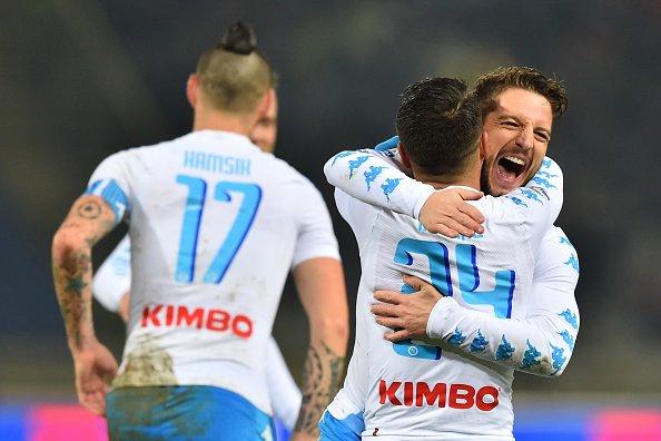 Anticipo Serie A: Bologna-Napoli 1-7, Hamsik e Mertens segnano tre gol