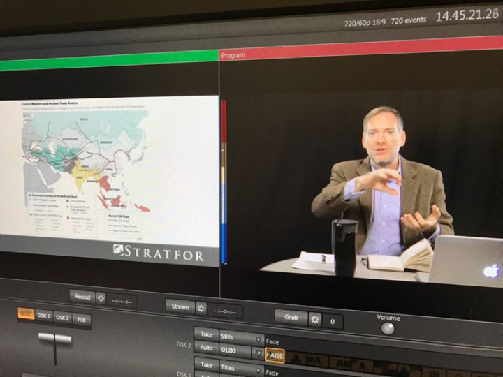 Stratfor's Rodger Baker now joining @AmericanU #ModelUN club via video feed to discuss global challenges in 2017.