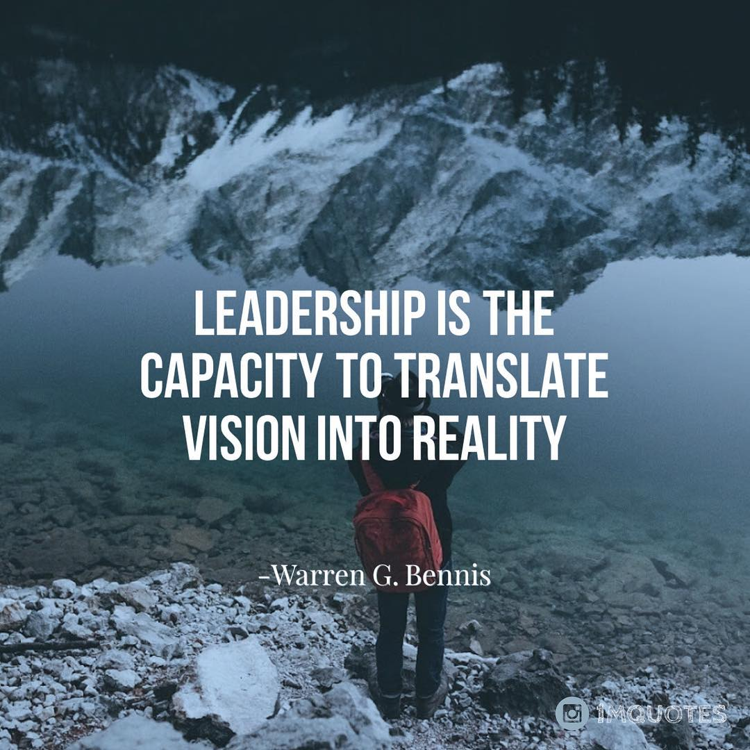 Quotes On Twitter Leadership Is The Capacity To Translate Vision