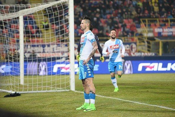 «Наполи» забил семь мячей вворота «Болоньи»