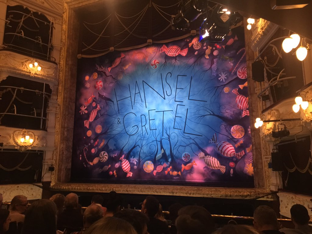 Fantastic performance of Hansel and Gretal by @scottishballet tonight. My first ballet, I will be back! https://t.co/3KQBMIw0Bz