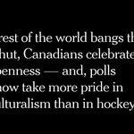 As countries around the world shut their doors, Canada's remain open, writes @NickKristof  https://t.co/9GJzkRdUfC