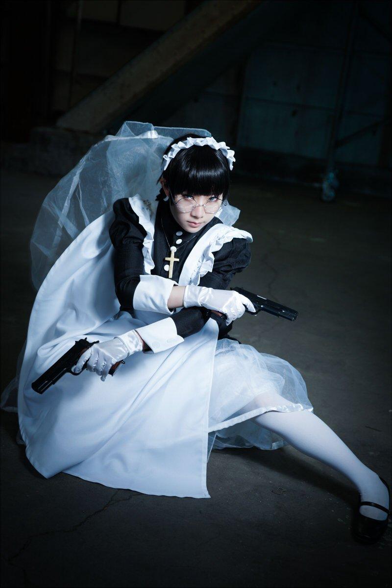 BLACK LAGOON/ロベルタ Photo:ふぁいやーさん(@firekakkun )aiRuinスタジオ(@airuin_s) 念願のブラクラやってきました!
