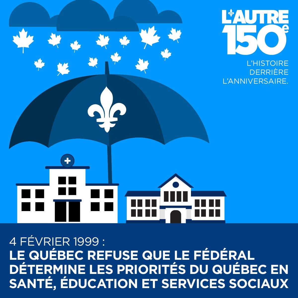 4 février 1999: Le Québec refuse de confirmer le pouvoir fédéral de dépenser  https://www. facebook.com/autre150e/post s/1271160849617690:0 &nbsp; …  #Canada150  #Autre150e #PolQc #PolCan<br>http://pic.twitter.com/xmLwCE1eS4