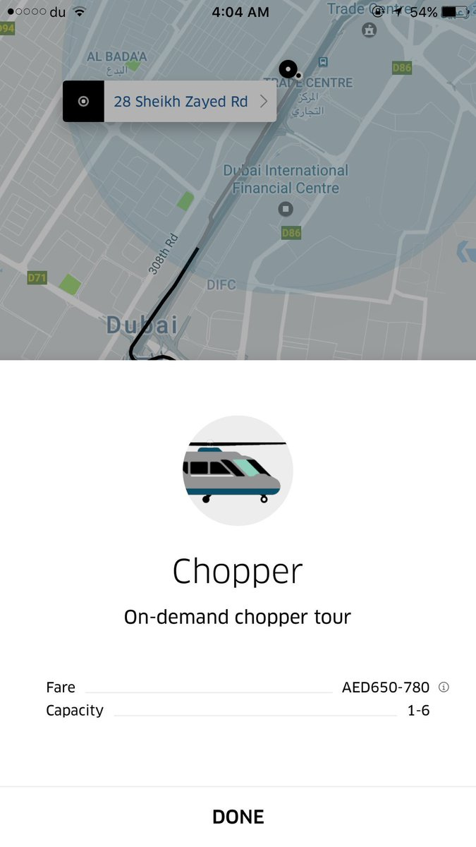 Holy crap Uber has helicopters here in Dubai.  I thought it was a myth. This place is so extra lmao I love it https://t.co/SZmmmm4GAE