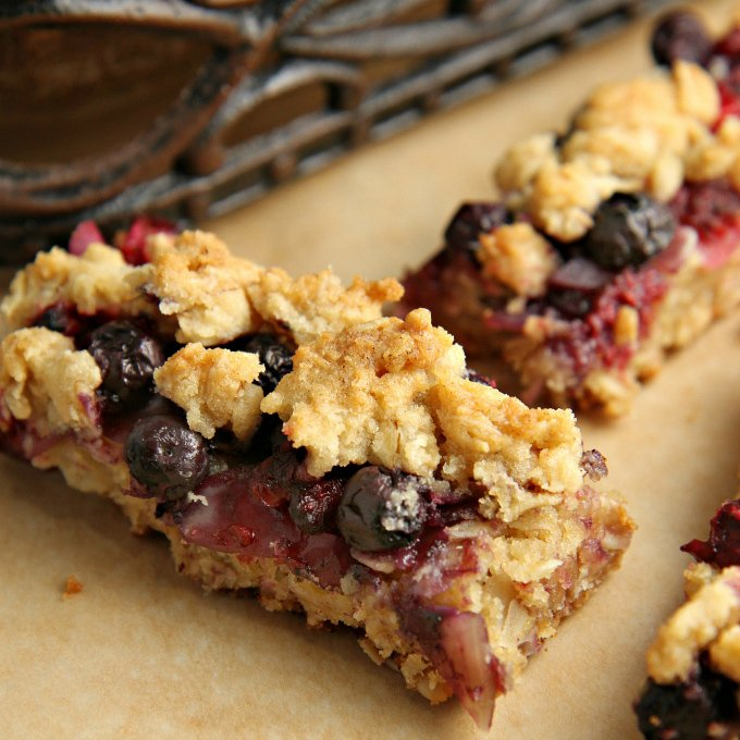 Berrylicious Bar Cookies recipe