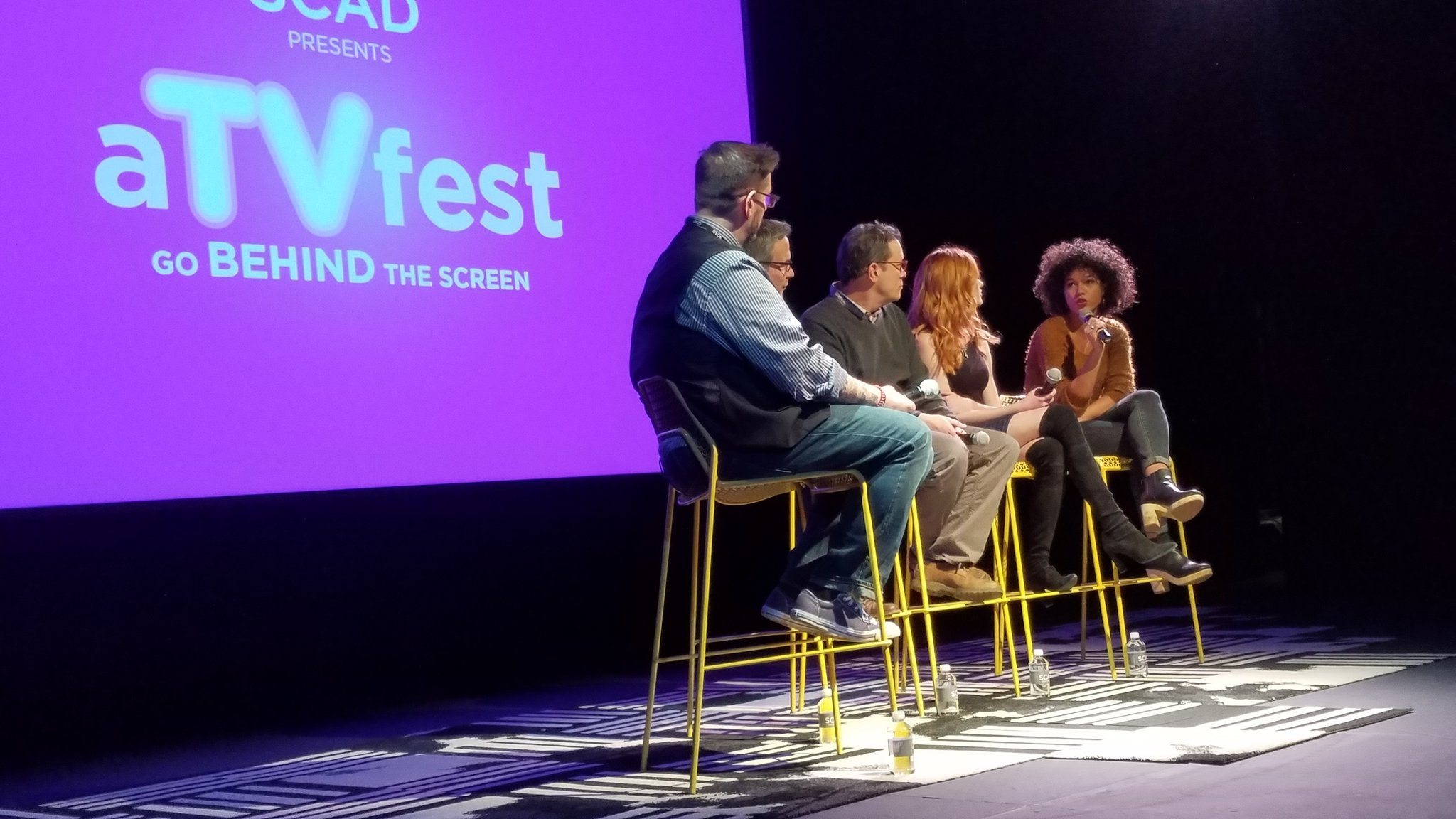 Today's last day of #ATVFest was the absolute best with the @ShadowhuntersTV executive producers & cast! https://t.co/VX1xtc6ZXg