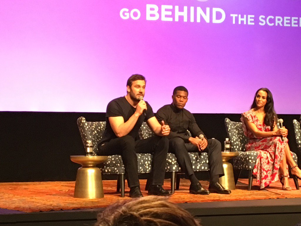 We saw pilot for @TakenNBC at #aTVfest and heard from some of its stars. Very impressive pilot! https://t.co/EjTUB2RaiU
