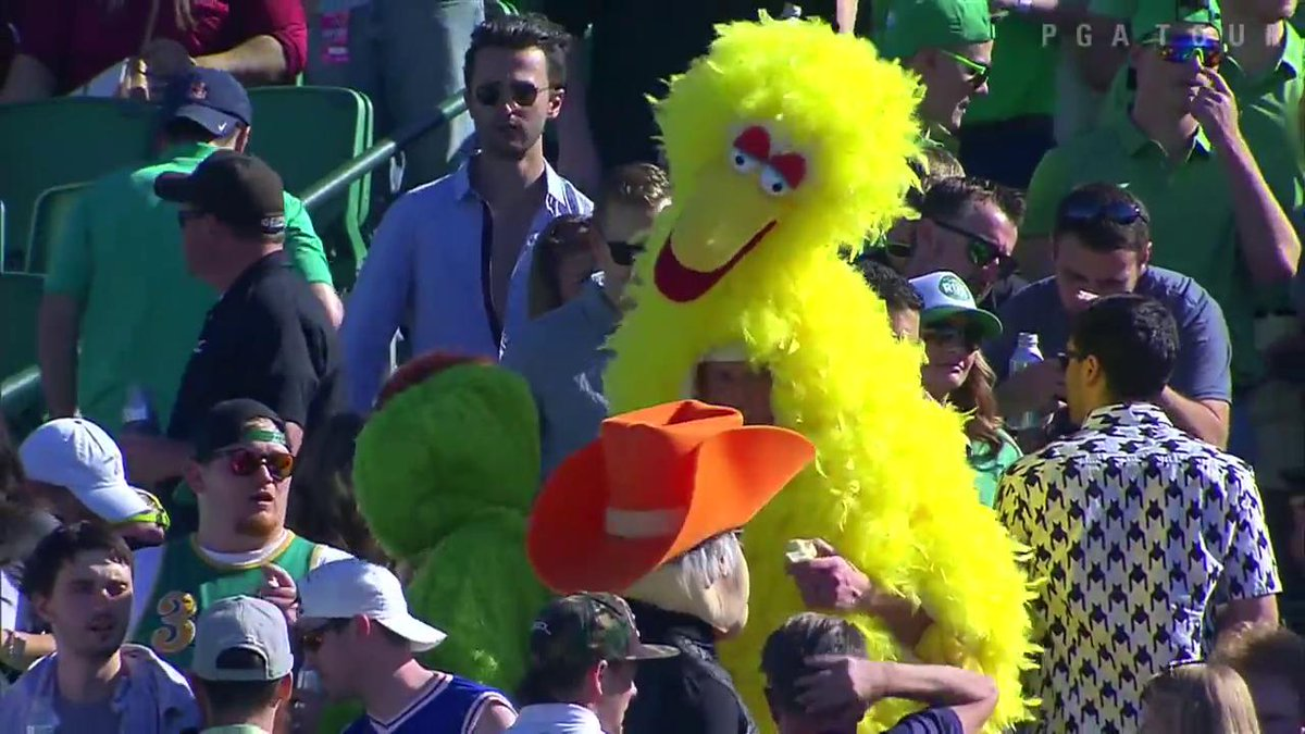 Is that ... is that Big Bird??  #TheTakeaway
