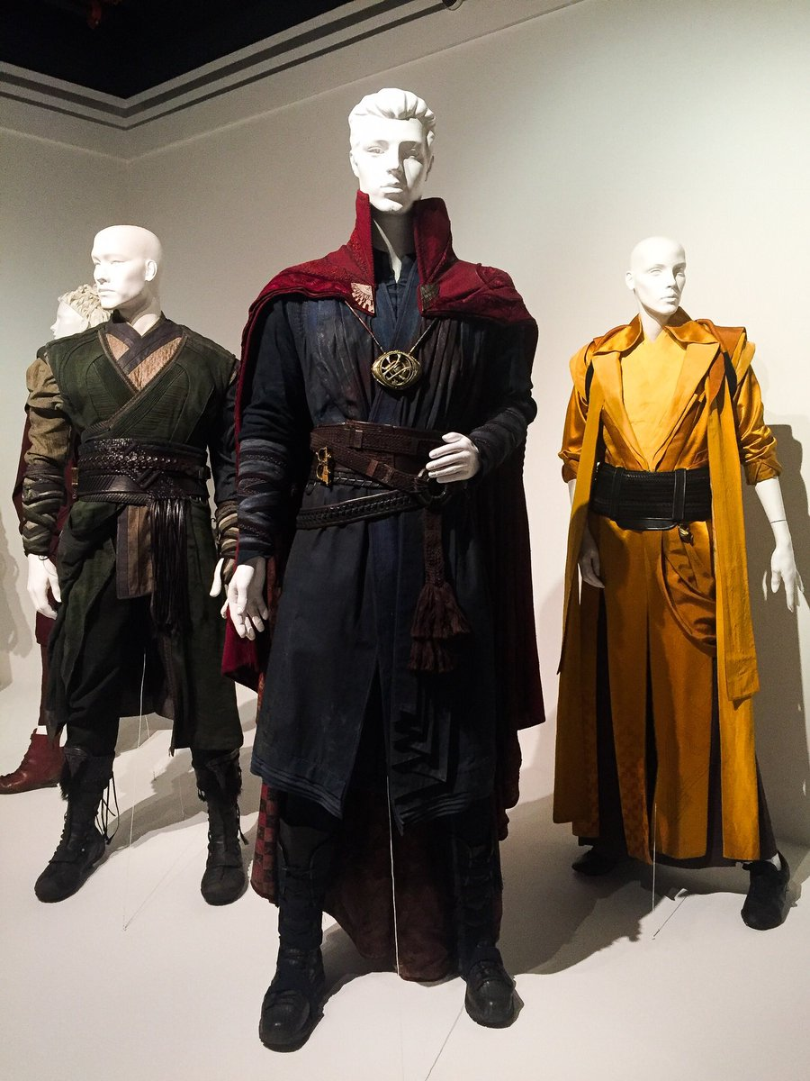 """Someone call the Doctor! #BenedictCumberbatch's costume in """"Doctor Strange"""""""