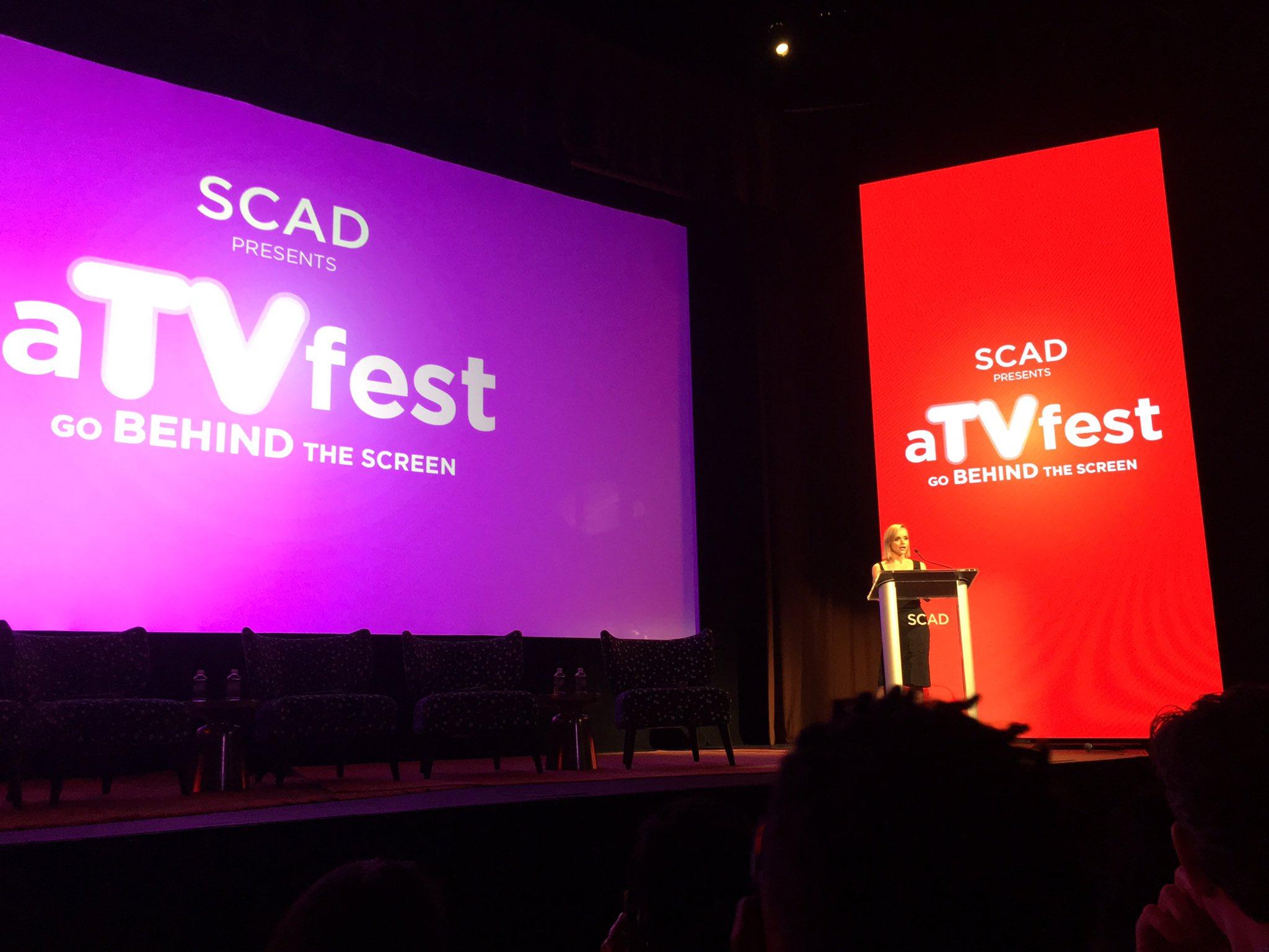 Congratulations to #aTVfest Vanguard award winner @ChristinaRicci! https://t.co/4rZr1rTVLR