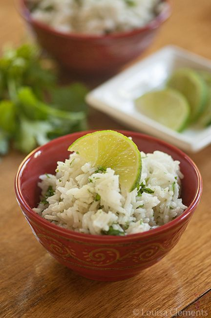 Cilantro Lime Rice — Living Lou