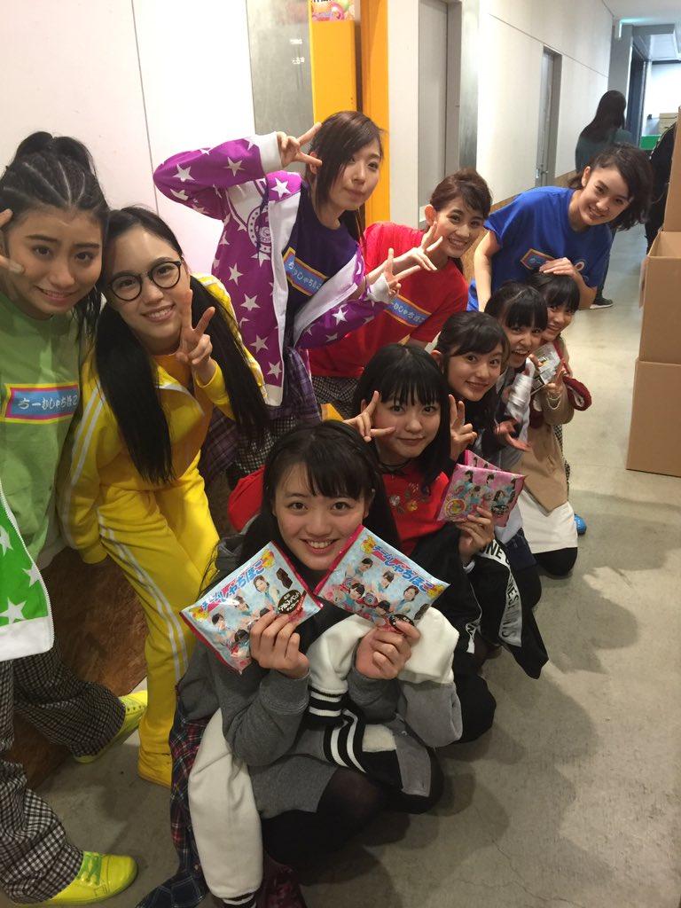 昨日の野郎NIGHT2017、同じ大阪にてフリーライブをしていたばってん少女隊も観覧に来てくれました…