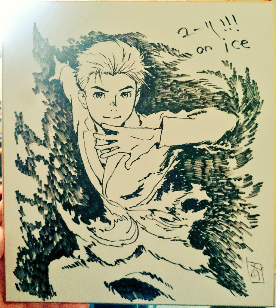 安彦さんに厚かましくも色紙描いてください!とお願いしたところ震える程のクオリティで描いてくださいまし…