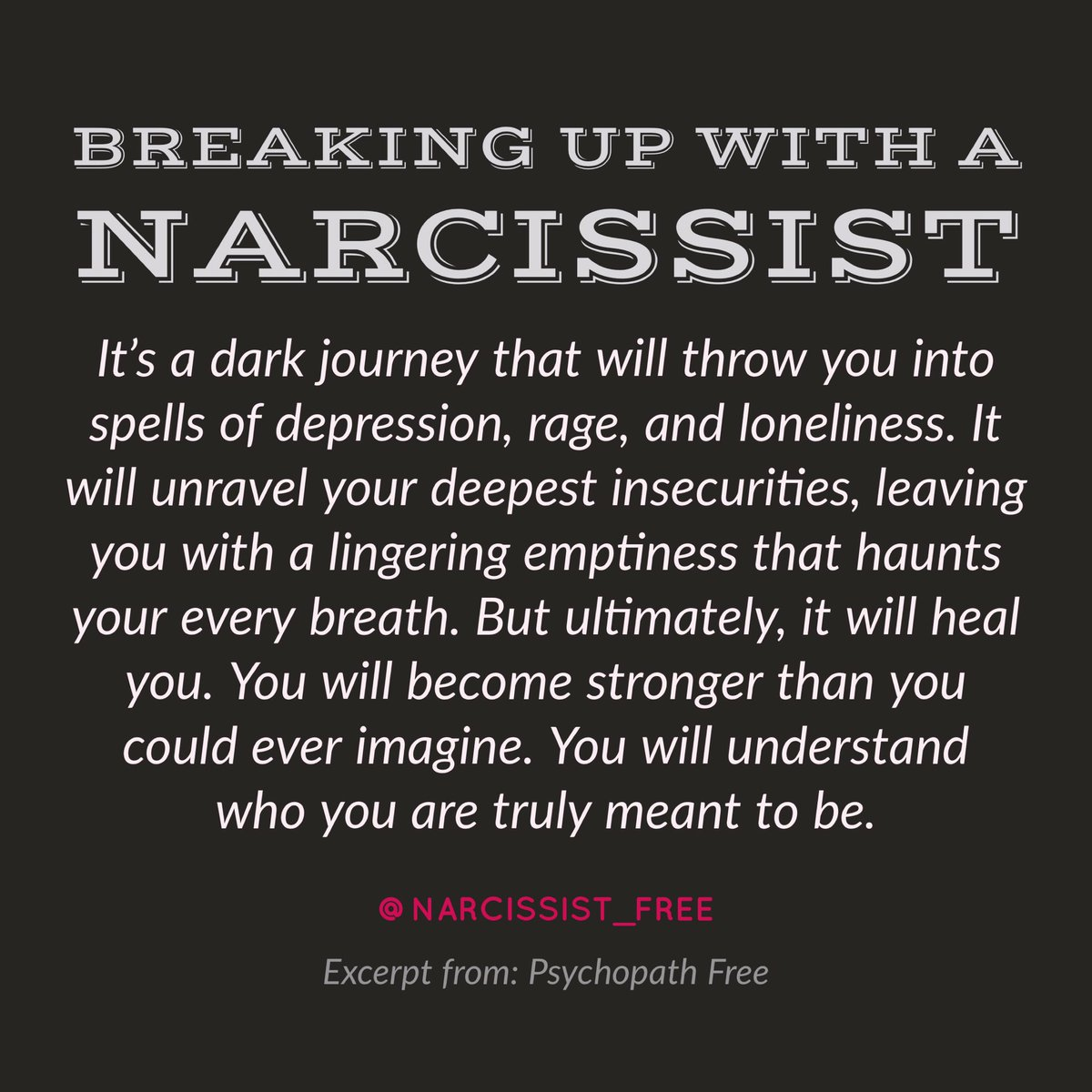 How to heal after dating a narcissist