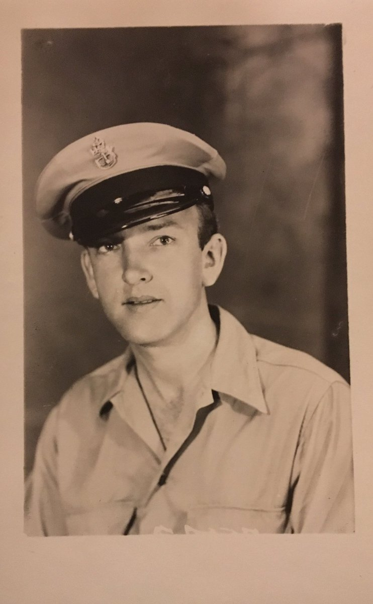 My grandfather, Carl J Rechtsteiner, he enlisted in the Navy during WWII. When Pearl Harbor was attacked, he was put on a plane ...  /1