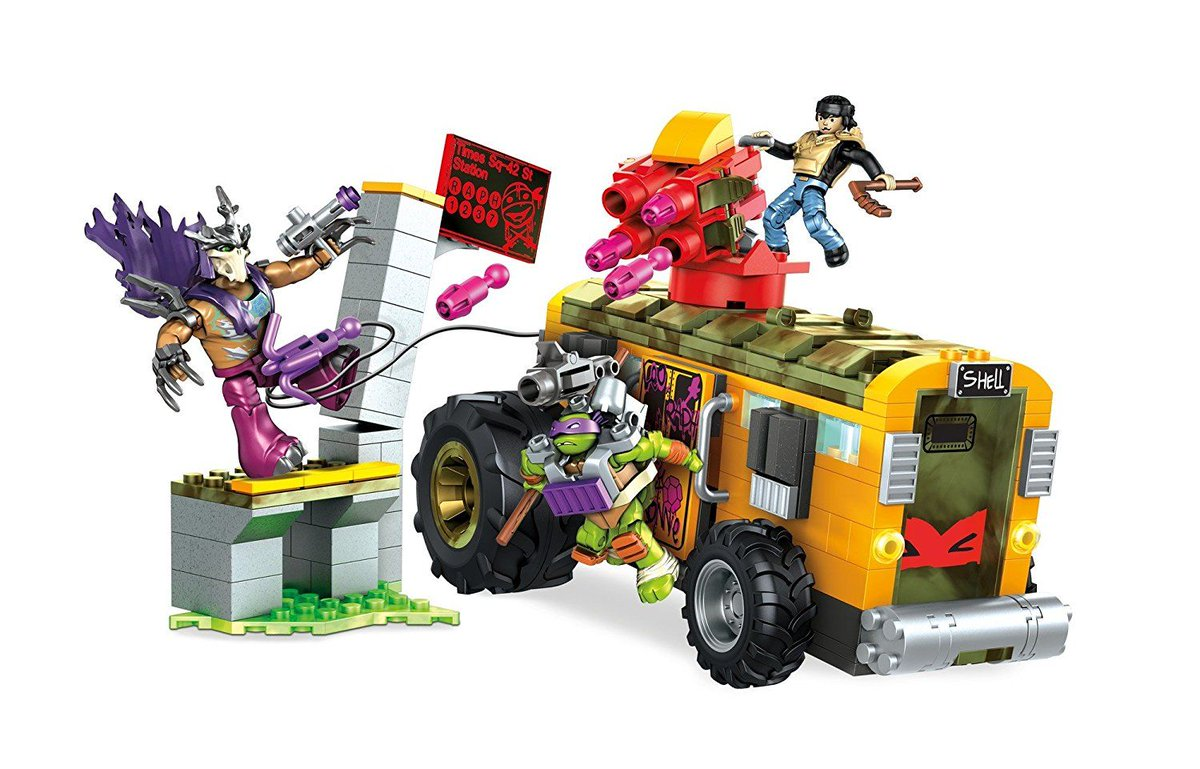 TMNT Fan 86 on Twitter Mega Construx  Teenage Mutant Ninja