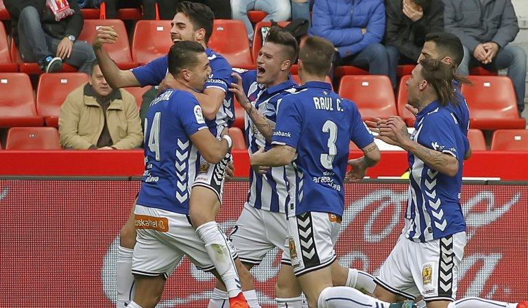 Video: Sporting Gijon vs Deportivo Alaves