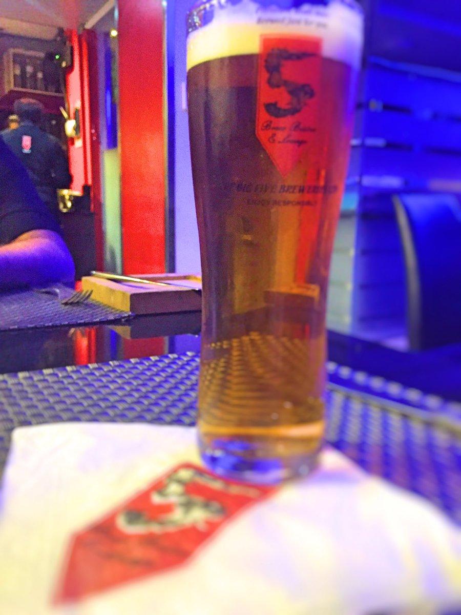 Enjoying a couple of pints before Monday rolls around