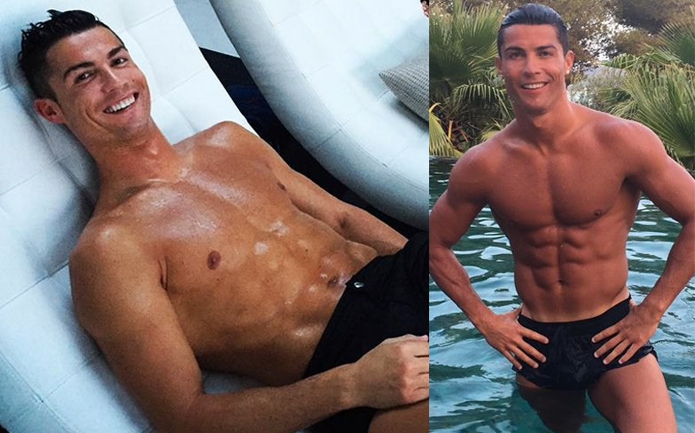 Happy birthday Cristiano Ronaldo! Celebrate with the football hunk's hottest moments.  https://t.co/dv7EDJX6xZ