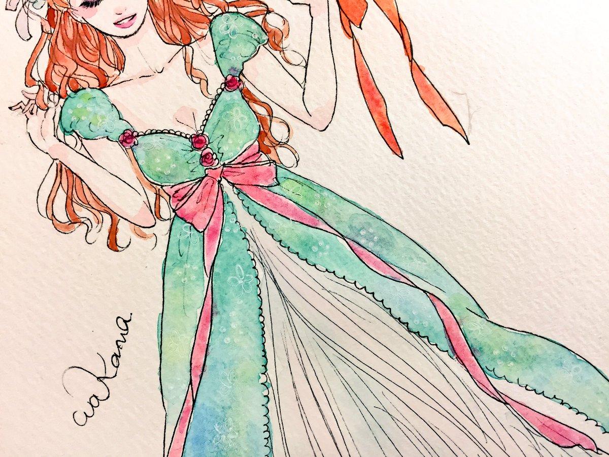 ART в Твиттере «Giselleなう〜💕 ドレスの細かい柄にに注目し