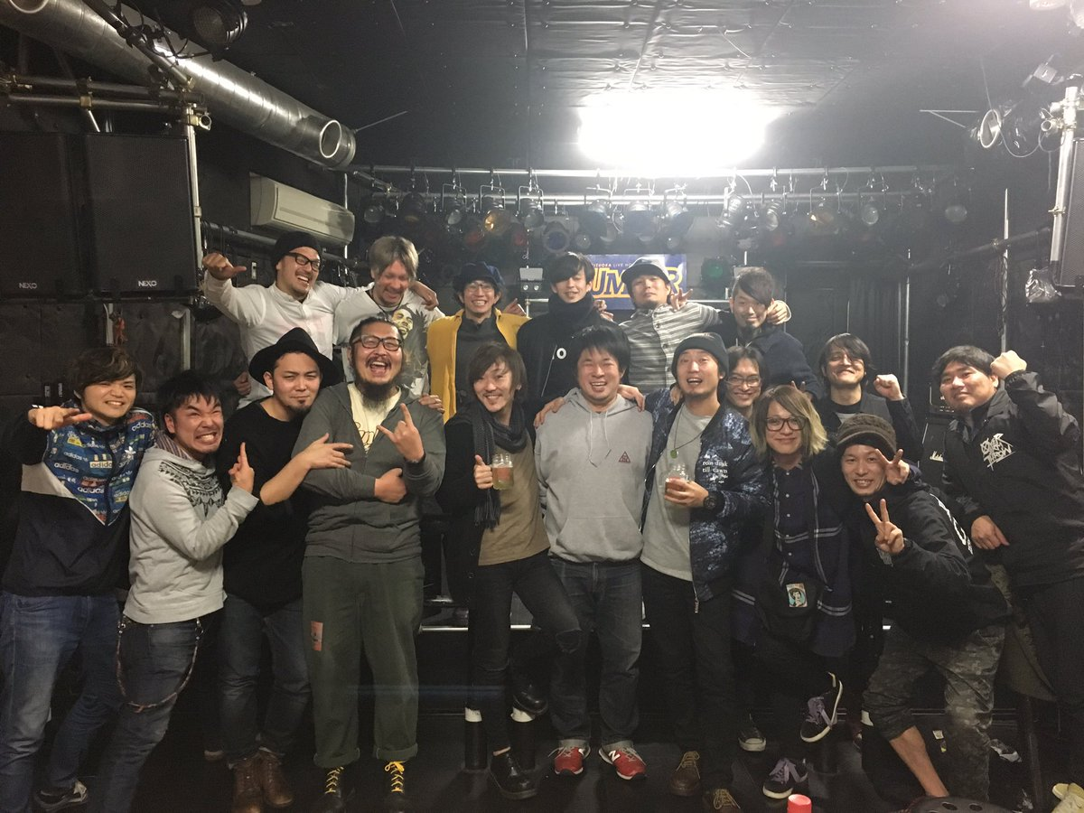 本日は静岡UMBER、来てくれた皆様、ありがとうございました!  FUNKISTと共にNUBOのリリ…
